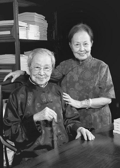 2012年6月28日蒋思豫先生与徐敏蕾女士摄于宁波天一阁