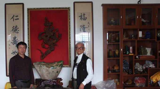 笔者采访欣石家王金水先生